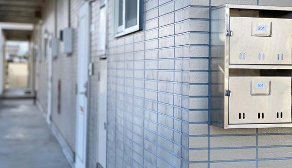 賃貸マンションの玄関